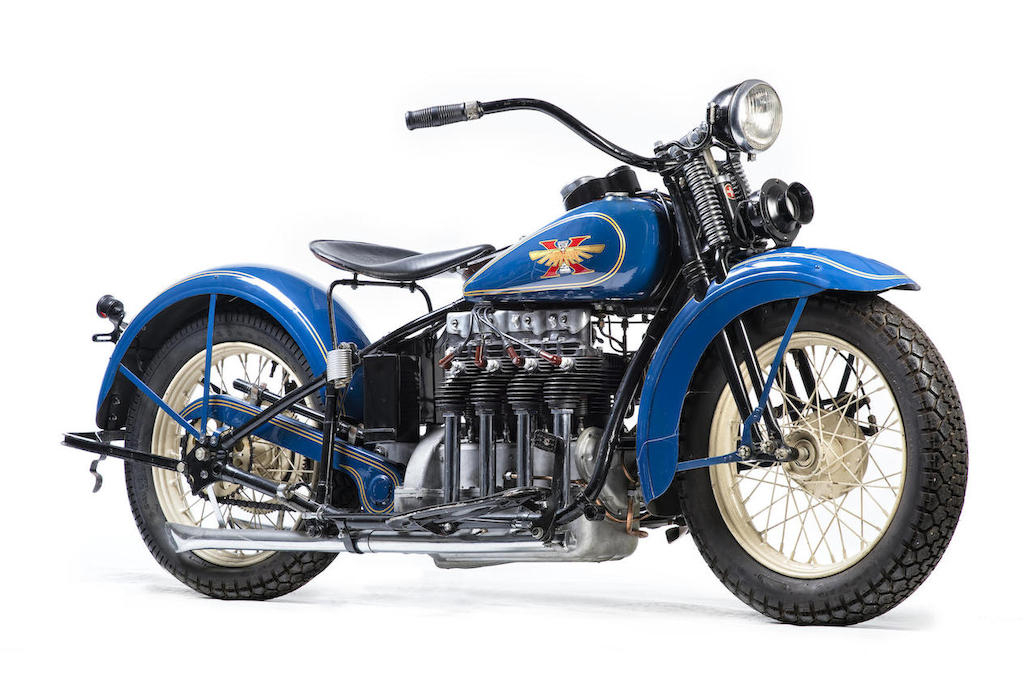 1931 Henderson KJ Four.