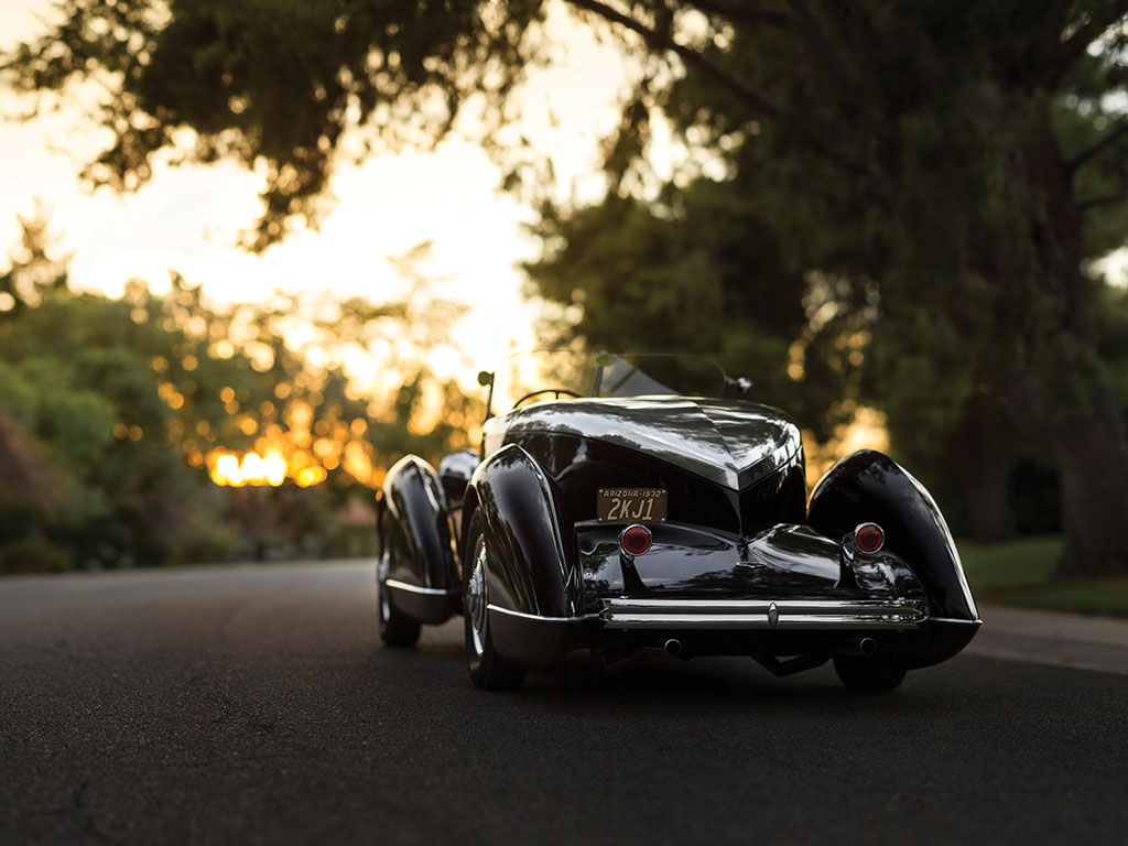 Will you be driving this fabulous motor car off into the sunset?