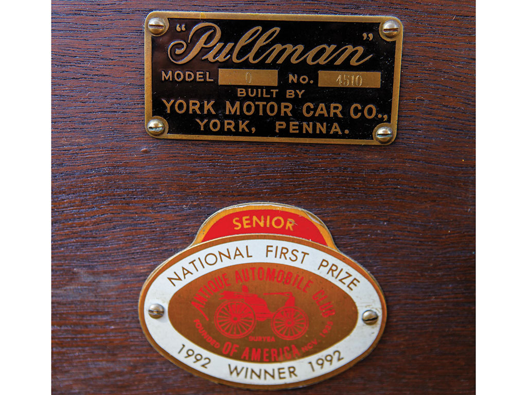 When the York Motor Company showed their first cars in 1905 they decided to use the Pullman name.