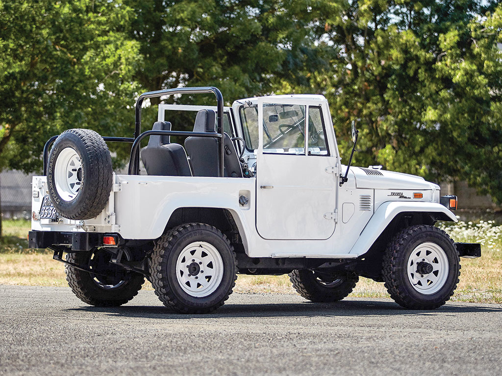 Although the Land Cruiser is based on the Willys Jeep Toyota made significant changes both mechanically and in the vehicle's appearance.