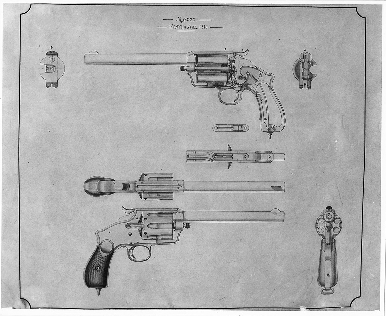 Winchester Wetmore-Wells Revolver-5