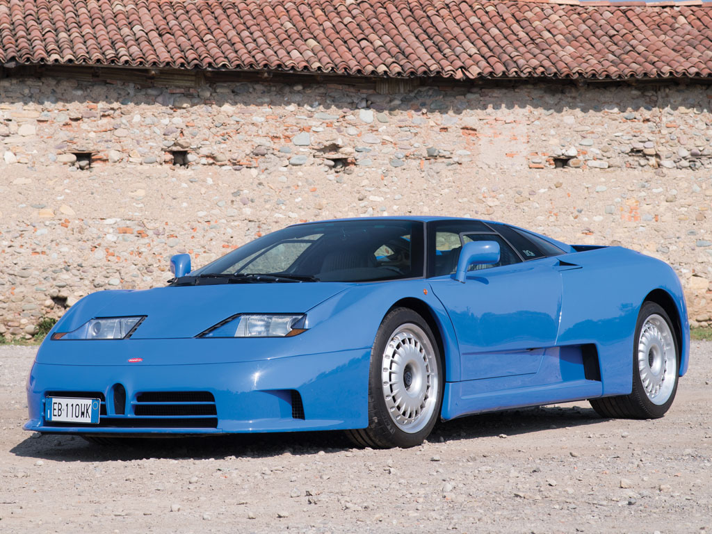 There were only 139 Bugatti EB110's made between 1991 and 1995.