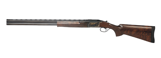 The Darne superposed shotguns are made in 12, 16 and 20 gauge on the Blitz system and in 12 and 16 gauge for the sidelock version. (Picture courtesy Darne).