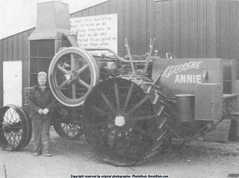 An original Rumely Model B 25-45 Kerosene Annie as restored by Oscar Cooke. (Picture courtesy smokestak.com).