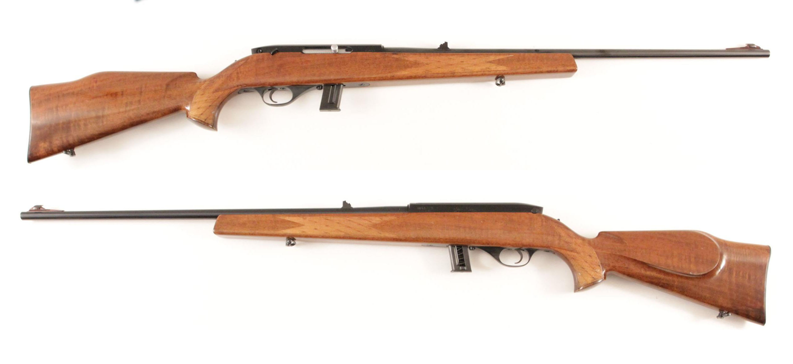 Roy Weatherby did not set out to create .22lr rimfire rifles. He was primarily interested in his wildcat centerfire rifles. But back in 1960 he approached Beretta to create a .22 rimfire.