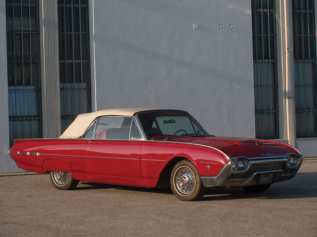 This 1962 Ford Thunderbird Is Coming Up For Sale By RM Sothebys On Friday 25th November