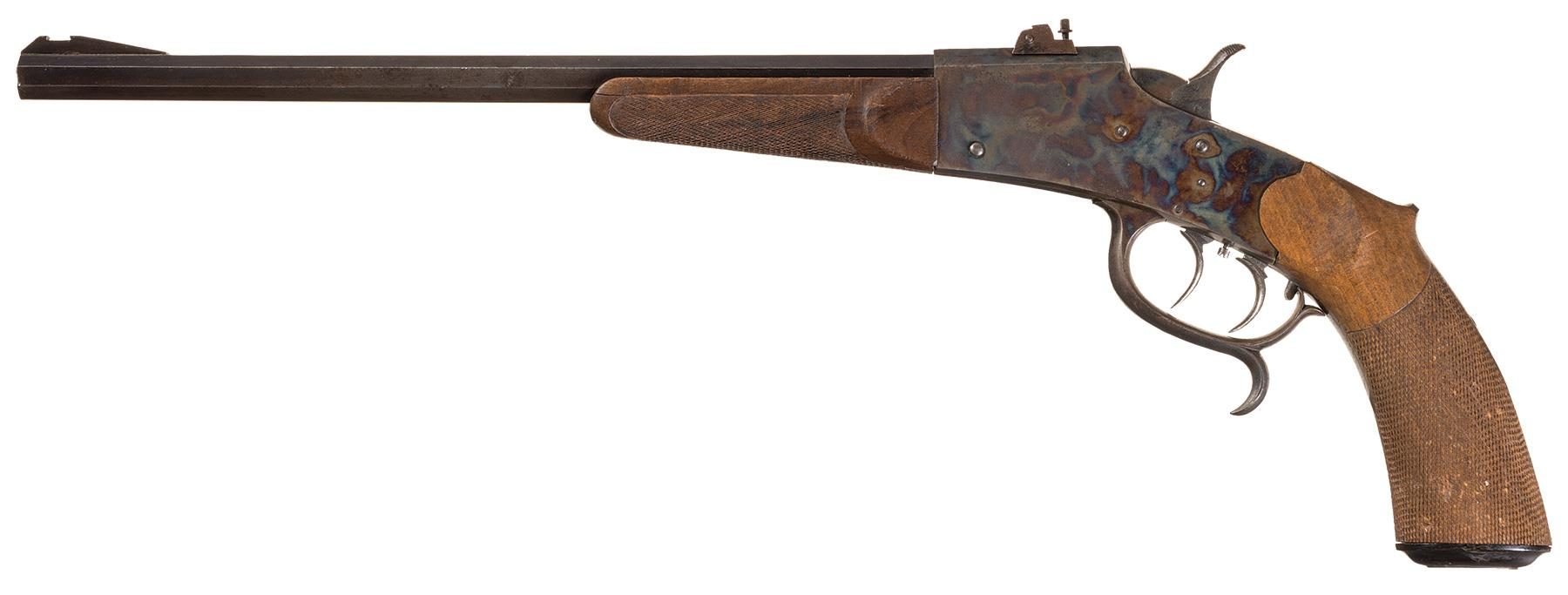 This Buchel Free Pistol is essentially the same as the previous Buchel and was made before the First World War.