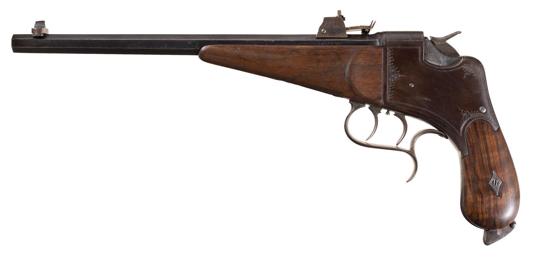 The Tell pistol was the predecessor of the Luna.