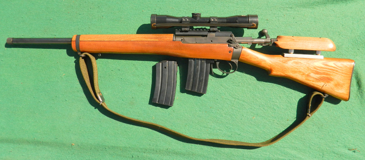Left side view of the AL42 rifle. (Picture courtesy Armalon).