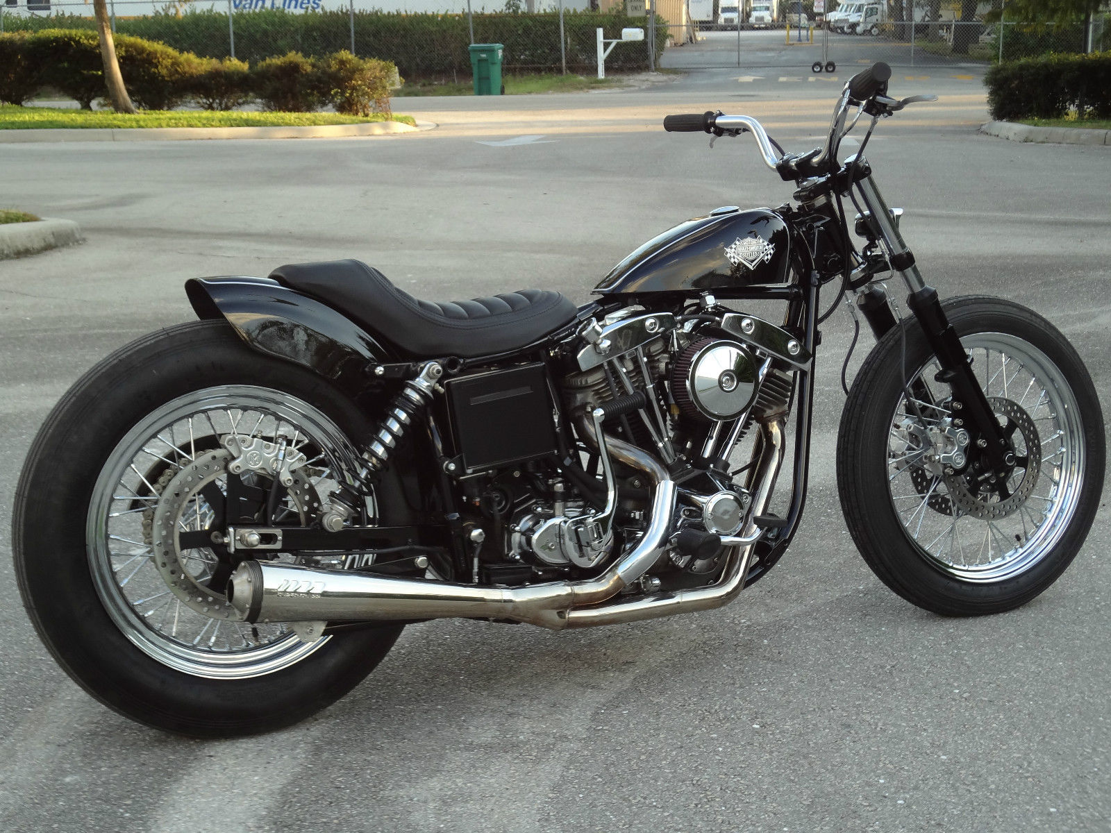 Although the seventies AMF era was not good for Harley-Davidson this custom 1978 bike has been completely re-built.