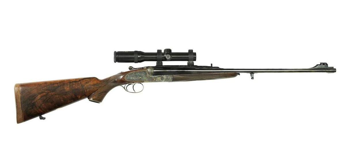 "This rifle tips the scales at 10lb 12oz with rifle-scope fitted. Length of pull is 15½"" (14½"" stock). Barrel length is a sensible 24"""