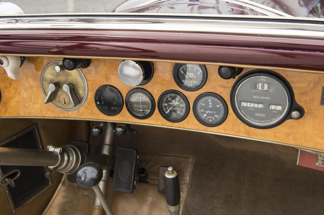 Dashboard detail gives an idea of just how good this sixties vintage restoration work has been.