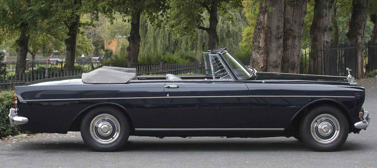 The H J Mulliner, Park Ward custom built drophead coupé manages to be one of the most aesthetically pleasing cars ever to wear the Rolls Royce Flying Lady.