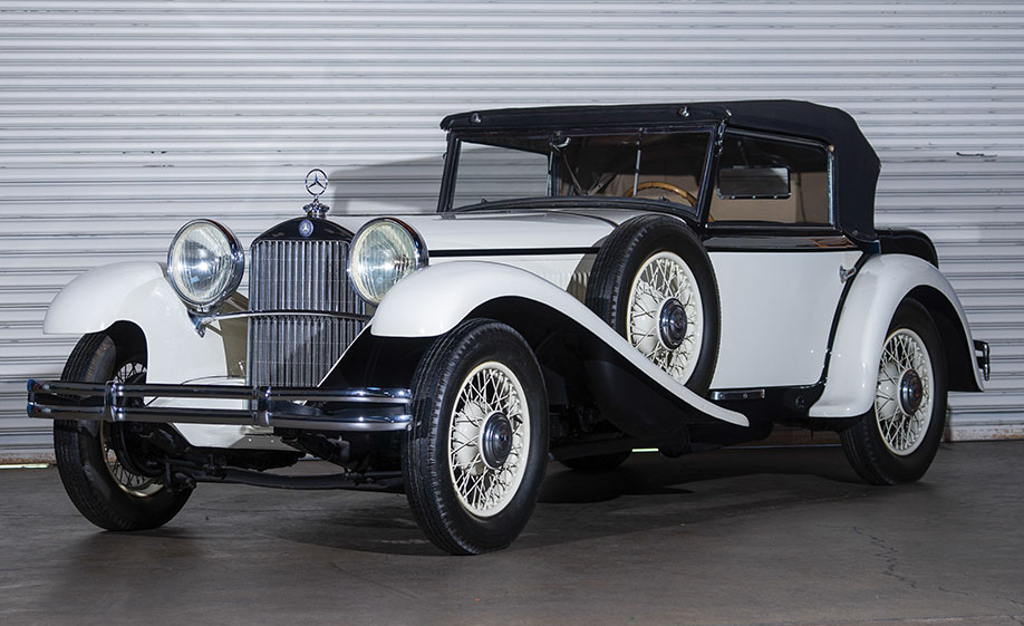 The Mercedes-Benz 37S Mannheim Sport Cabriolet is an impressive product of the Mannheim factory.