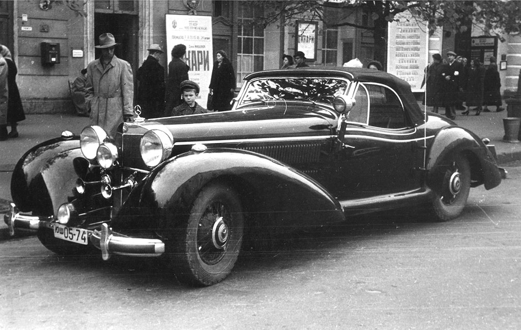 Rolf Horn's 540 K in Moscow during the late fifties.