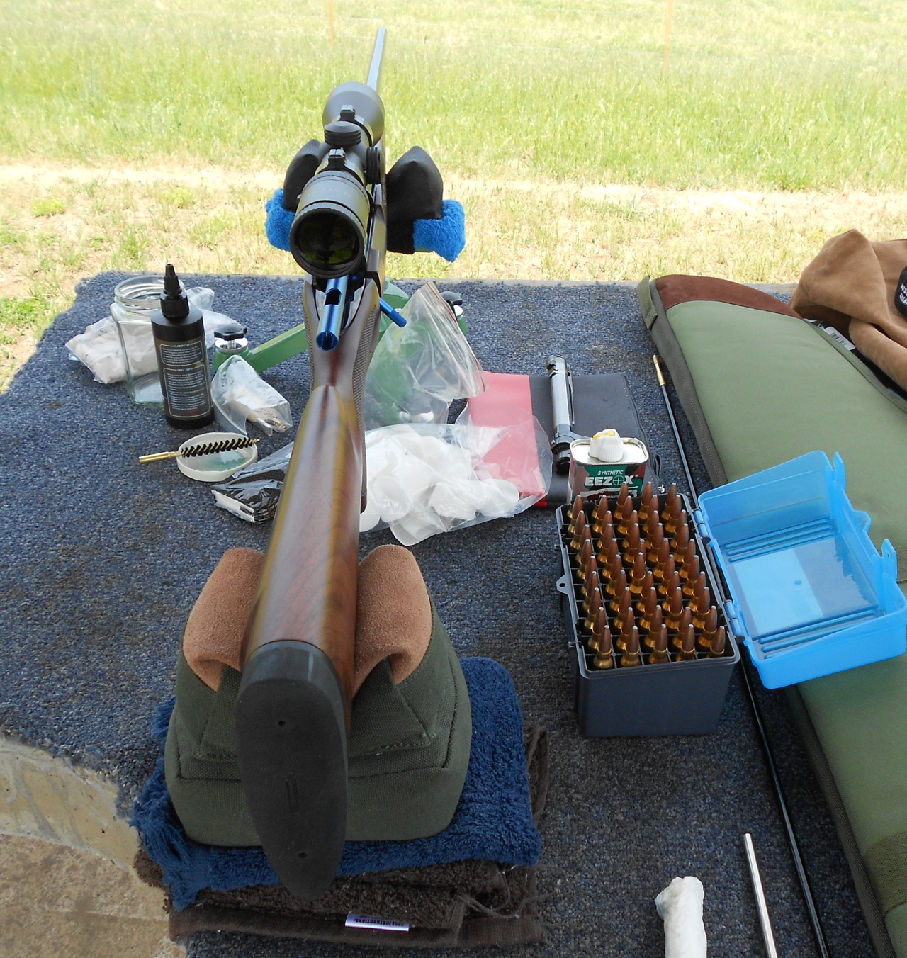 One benefit of taking the time to do a barrel break in is you will get to know your new rifle well. You will know where it shoots first shot from a clean cold barrel and you will find out if shots move as fouling builds up, and how much.