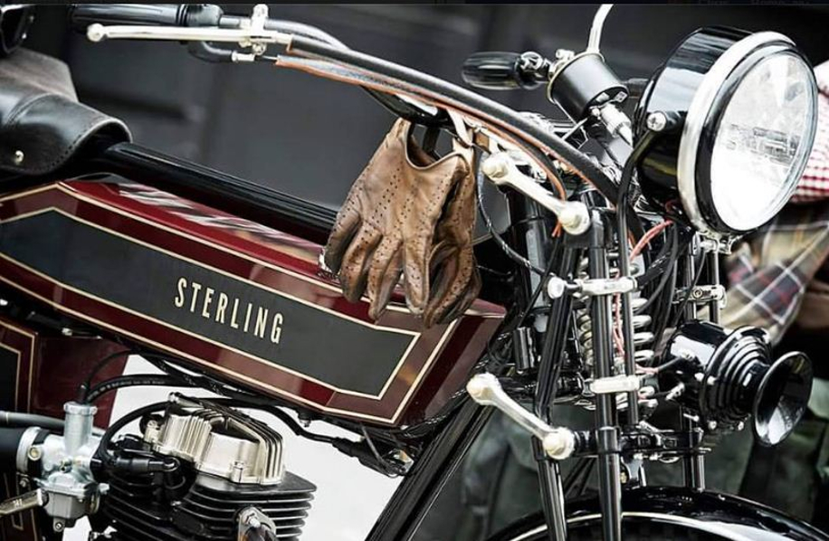 The effect of Fabio Cardoni's skillful blending of traditional materials with twenty-first century technology produces a classic effect in which the modernity is hidden, yet its benefits are all there. (Picture courtesy The Black Douglas Motorcycle Company).