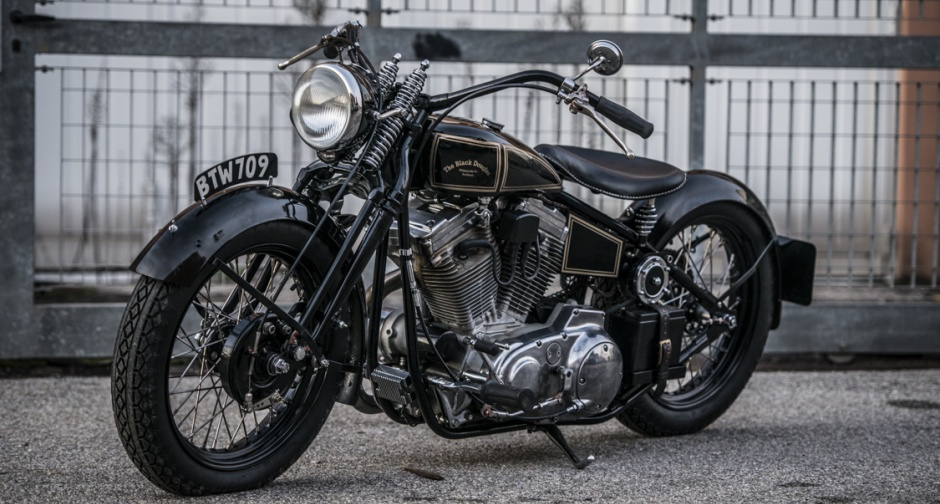 """The Black Douglas """"Solace"""" looks like a bike that would be easy to fall in love with. (Picture courtesy classicdriver.com)."""