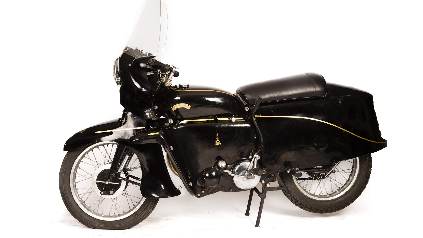 As the most technologically advanced motorcycle to leave the Vincent workshops the Black Prince is arguably the most advanced motorcycle of the fifties.