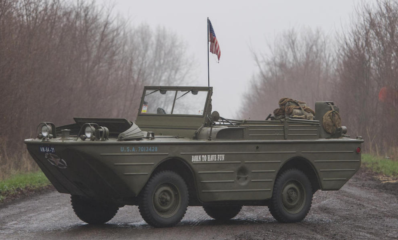 Amphibious Military Vehicle For Sale >> Ford GPA Amphibious Military Vehicle - Revivaler