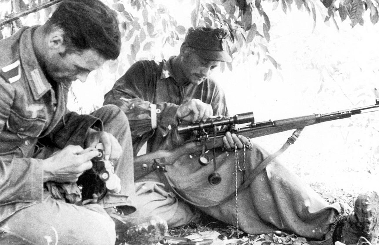 Gustloff Werke Quot Bcd 4 Quot Mauser 98 Sniper Rifle Quot Long Rail