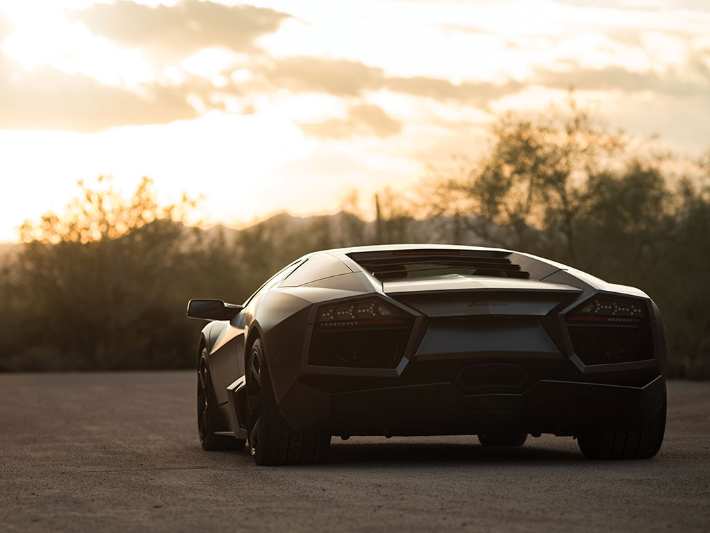 A super-car, such as the Lamborghini Reventón, is really a road going work of art that you can have some serious fun in.