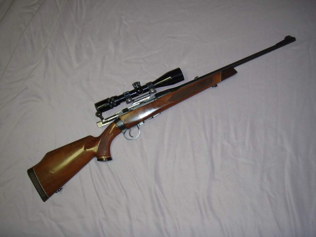 Parker-Hale Custom No. 4 rifle. (Picture courtesy Newt-Fred).