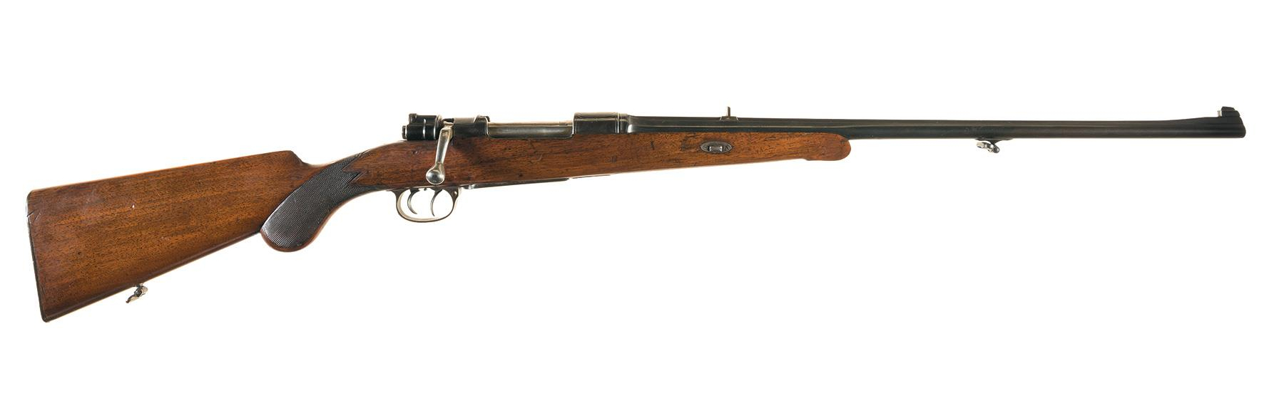 The H. Burgsmuller & Sohne 8mm is a classic European sporting rifle in the German/Austrian style.