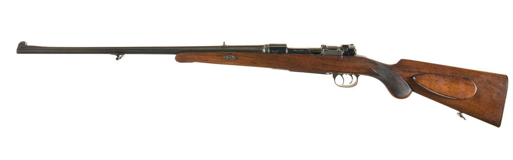 The stock wood on this rifle looks quite plain but it is listed as walnut and if given a patient oil finish could produce some nice surprises.