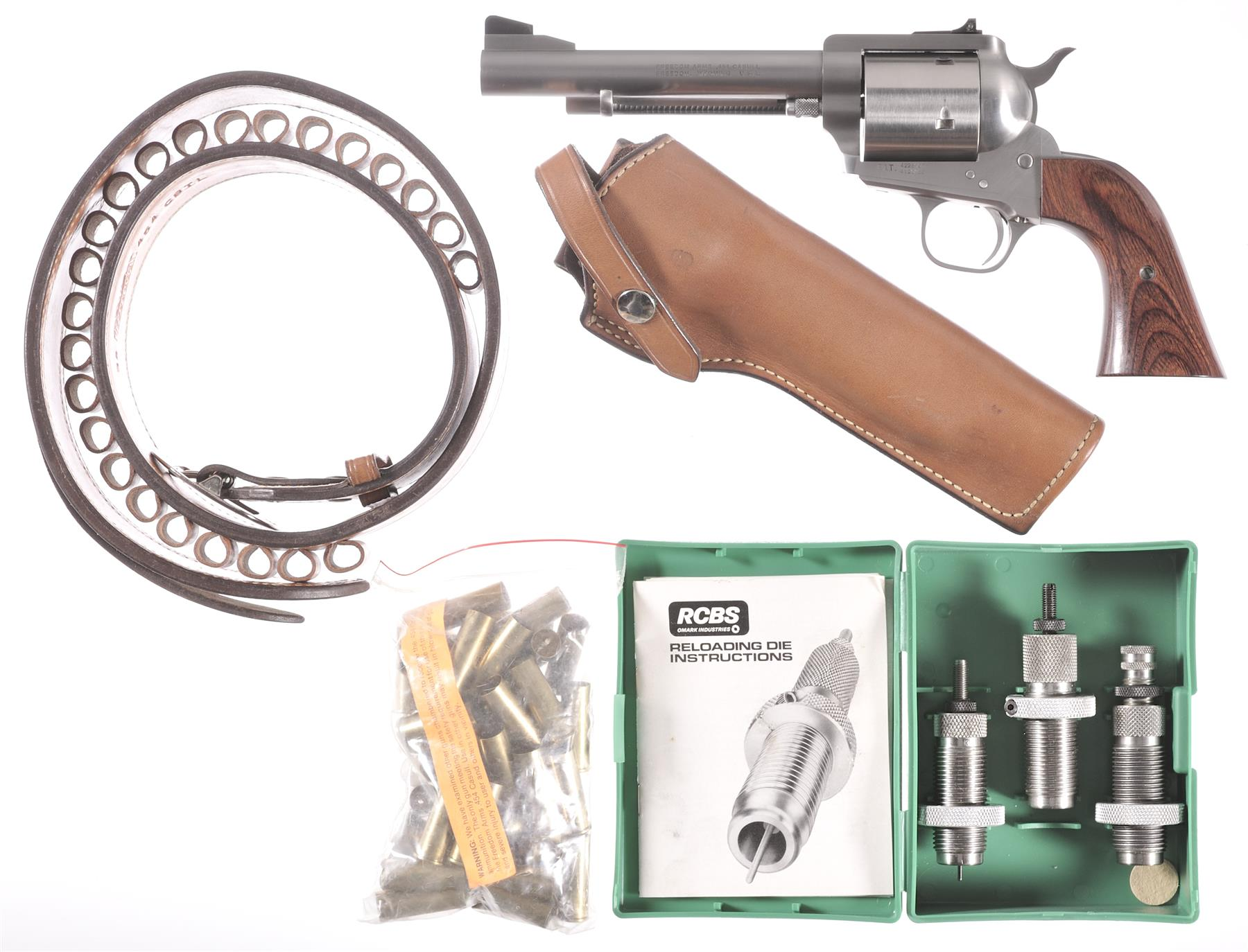 Freedom Arms 83 Revolver in  454 Casull - Revivaler