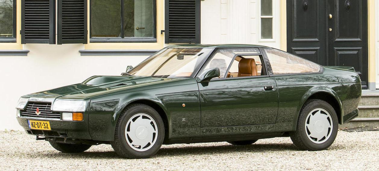 Aston Martin V8 Vantage Zagato Coupé Revivaler