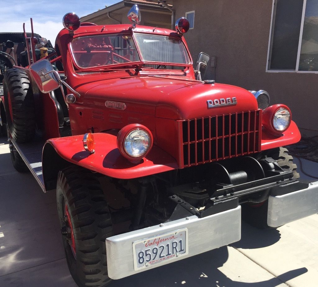 A Dodge Power Wagon Fire Truck Or Two Revivaler 1949