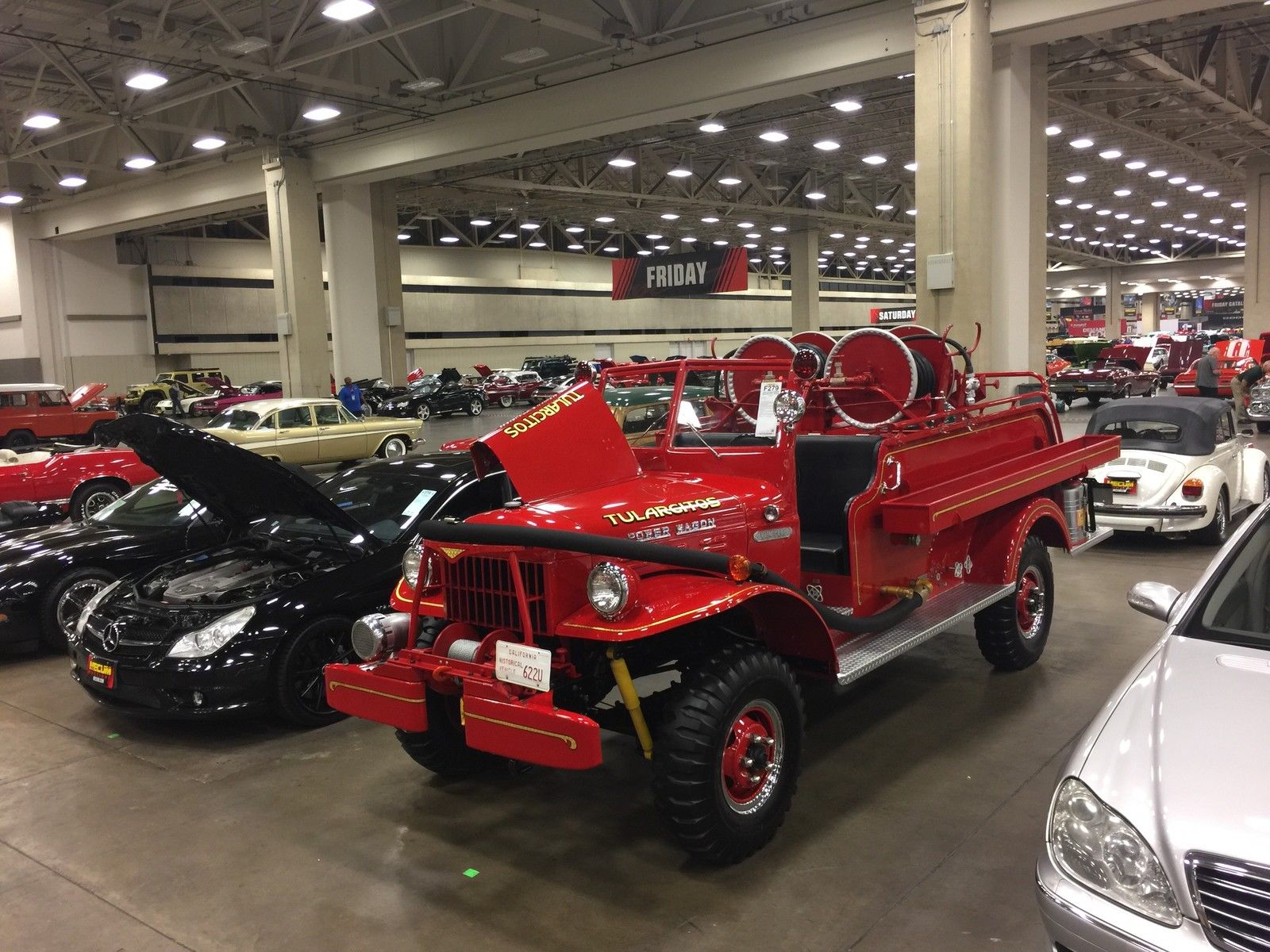 A Dodge Power Wagon Fire Truck Or Two Revivaler 1949 Left Side View Of The Restored Engine