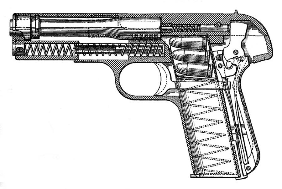 Schematic Diagram Colt 1903 - Wiring Diagrams Show