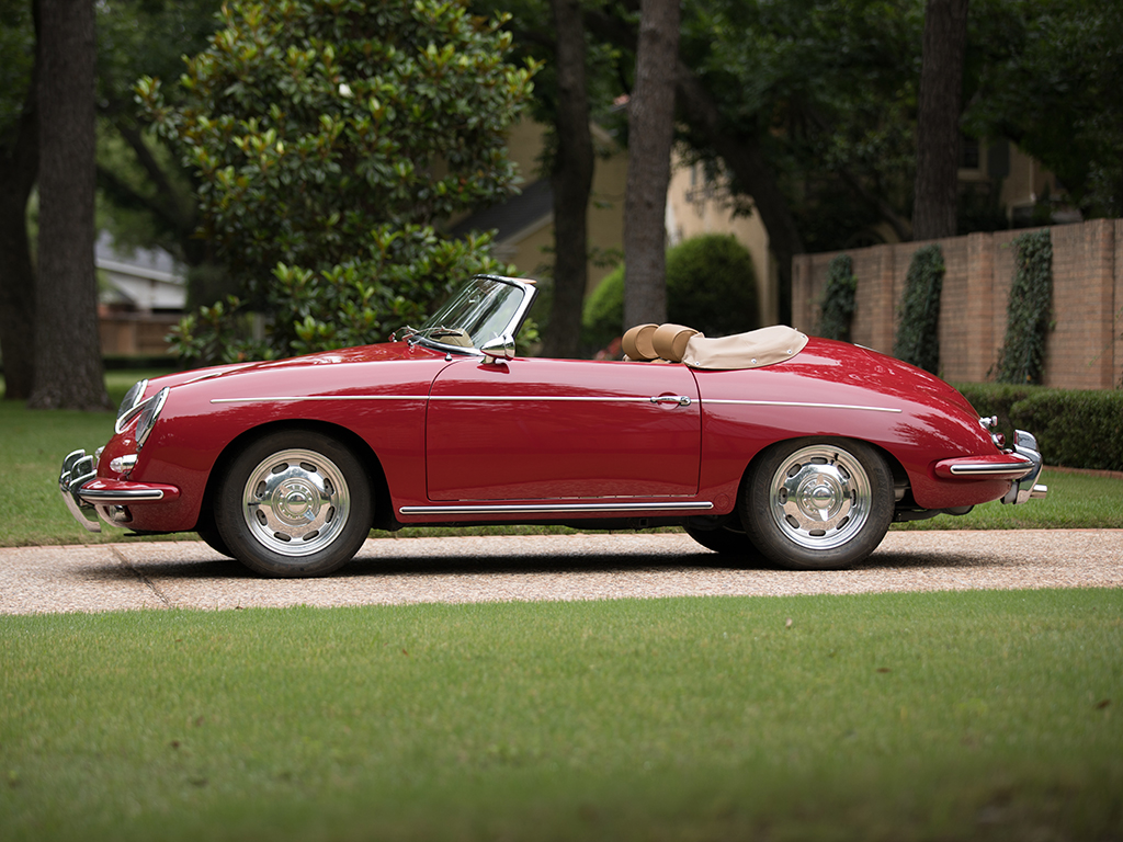 Porsche 356 B 1600 Roadster By Drauz Revivaler