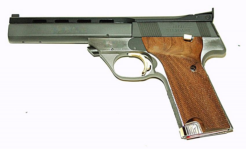 high standard supermatic pistols revivaler rh revivaler com High Standard Supermatic Trophy Military High Standard Supermatic Trophy