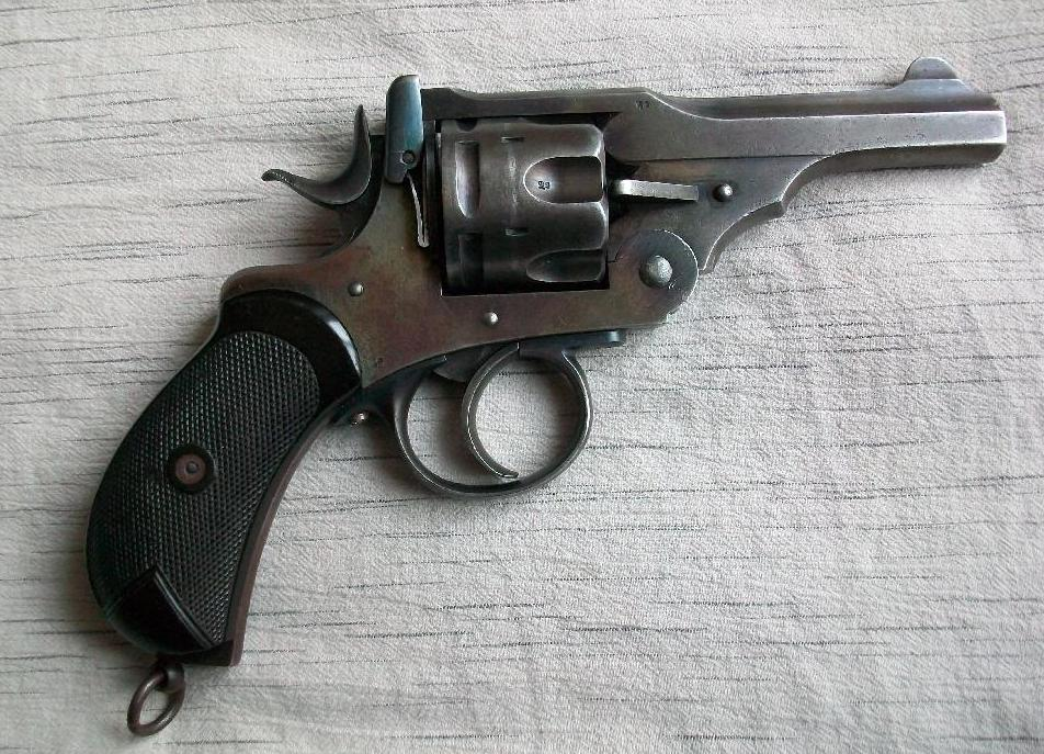 Anderson Wheeler Mark Vii 357 Magnum Revolver Revivaler
