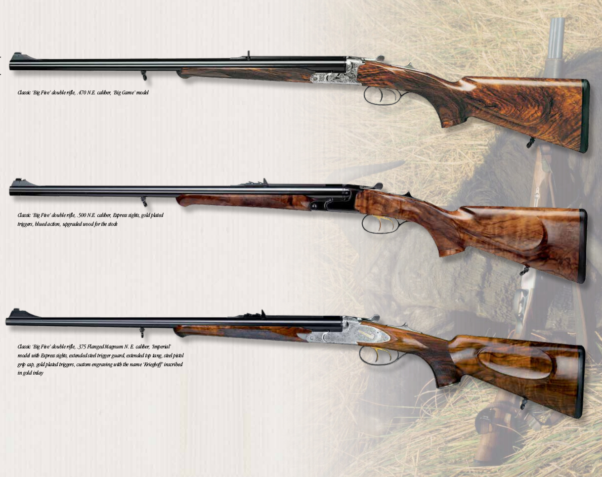 Krieghoff Double Rifles - Revivaler