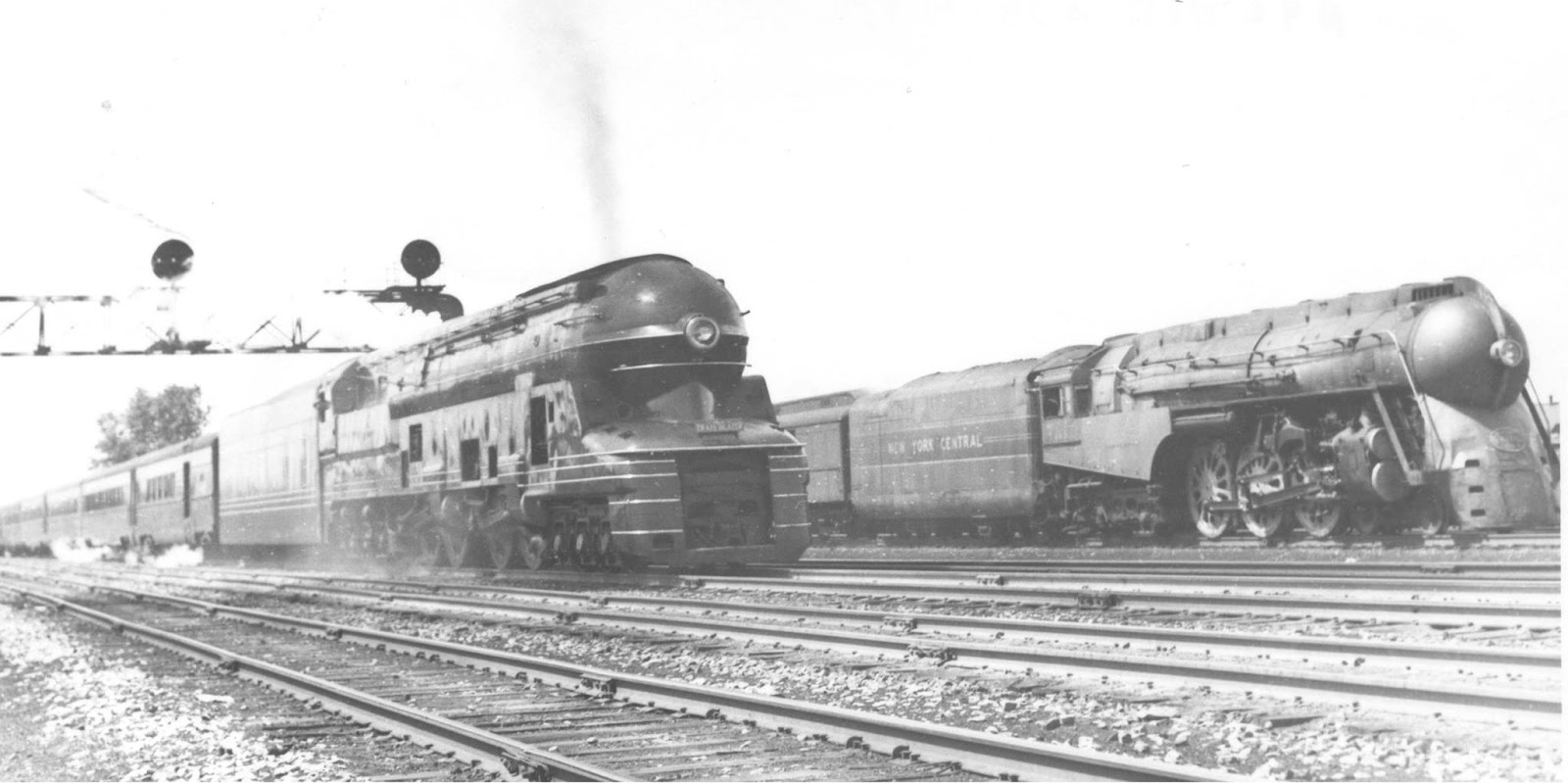 Pennsylvania Railroad T1 and T1a Duplex - Revivaler