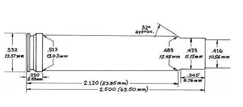 416 Taylor dimensional diagram