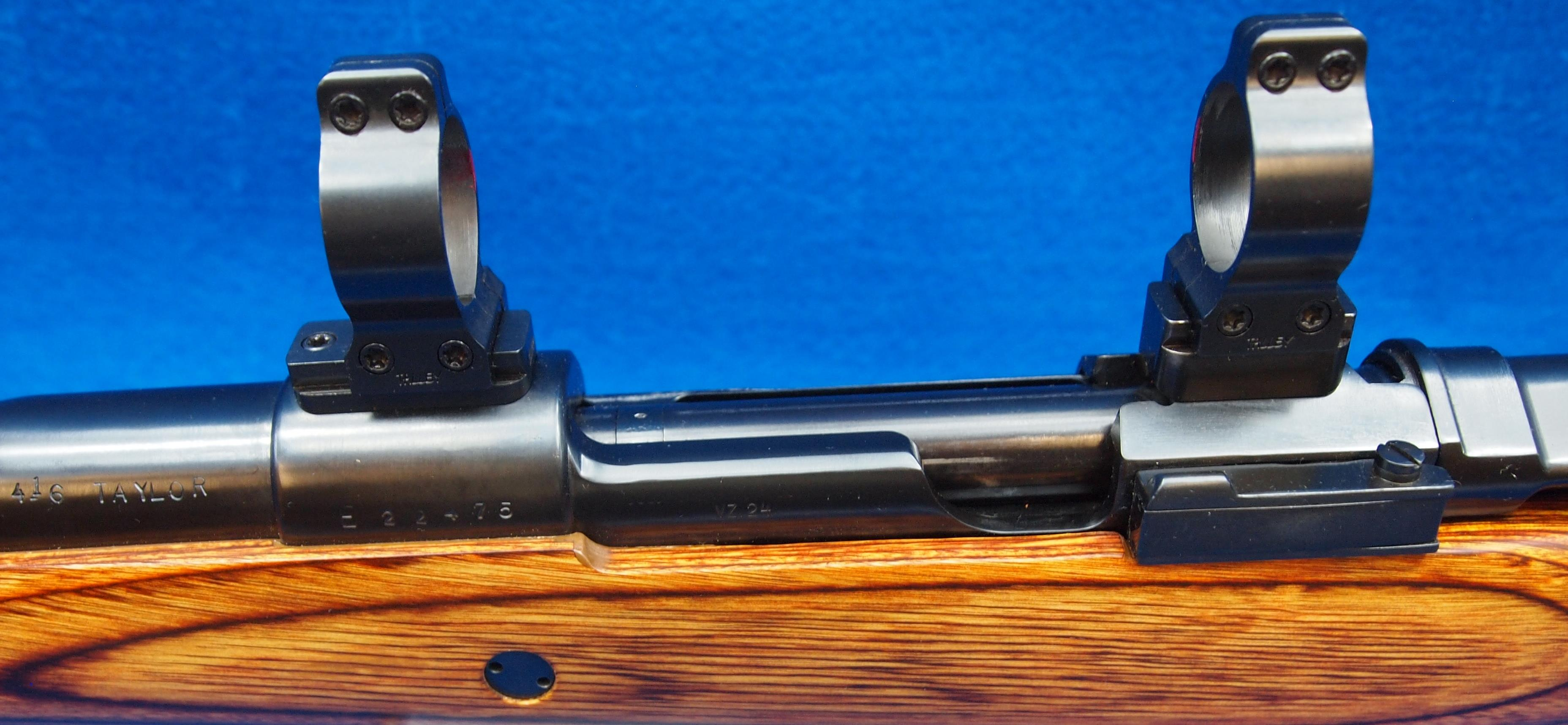 416 Taylor Mauser VZ24 Talley rifle-scope mounts