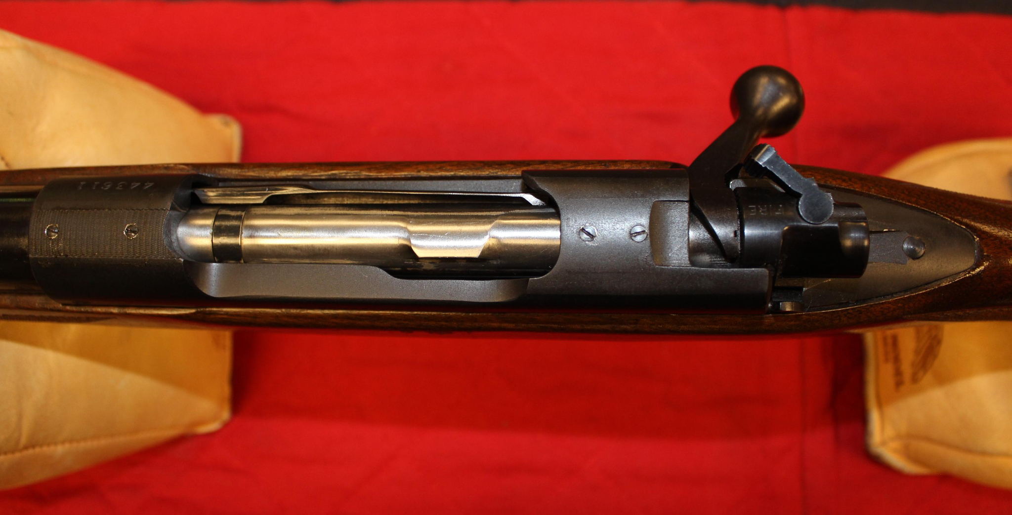 Pre-64 Winchester Model 70 300 Holland & Holland Magnum top view