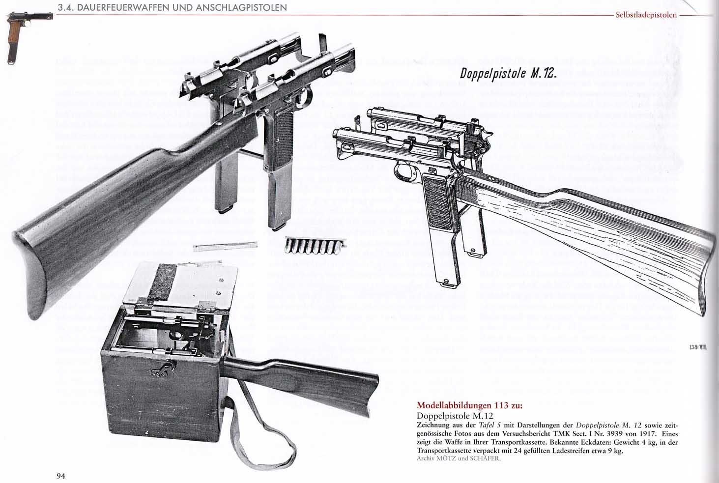 Steyr Doppelpistole M.12