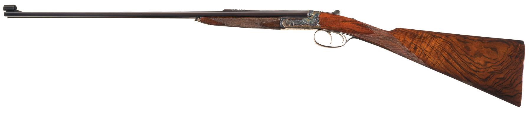 Churchill 22 Hornet double rifle