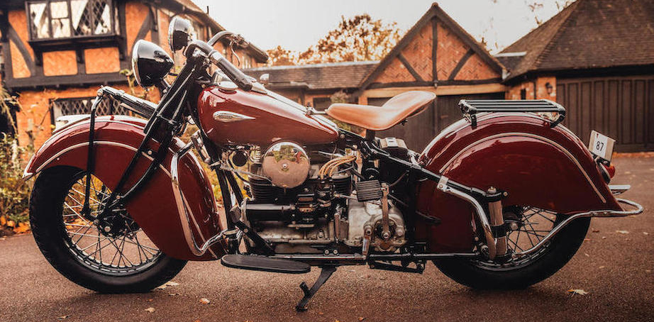 1940 Indian Four motorcycle