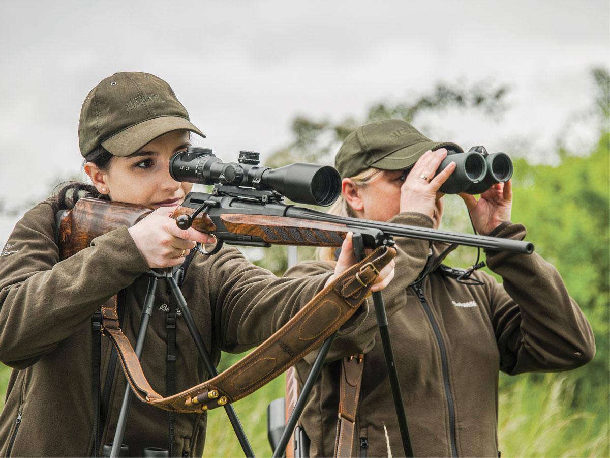 Merkel RX Helix Lady DS shooting sticks