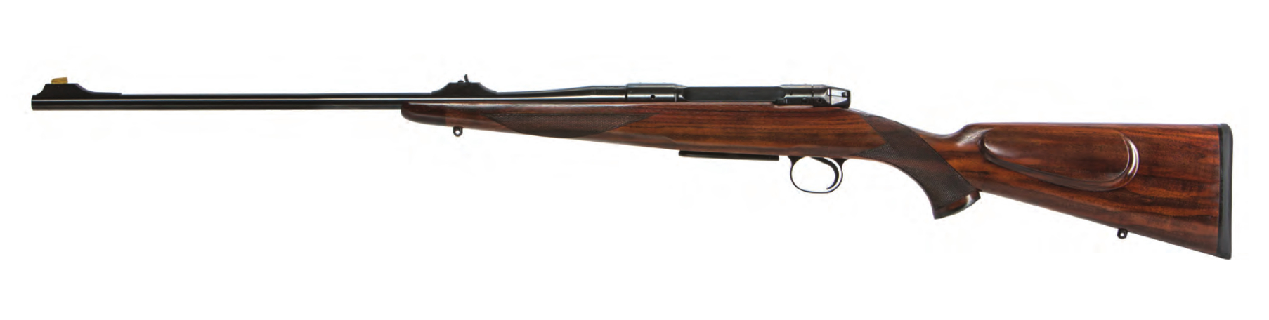 Heym SR30 straight pull bolt action rifle