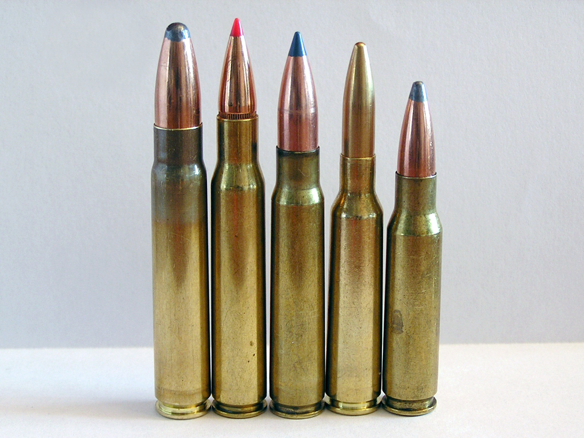 9.3x62, .30-06 Springfield, 8x57 IS, 6.5x55, .308 Winchester.