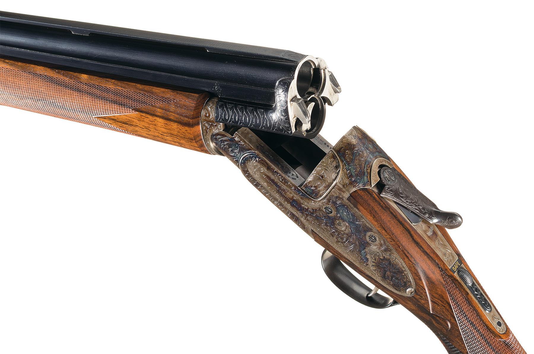 Westley Richards Ovundo gun action open