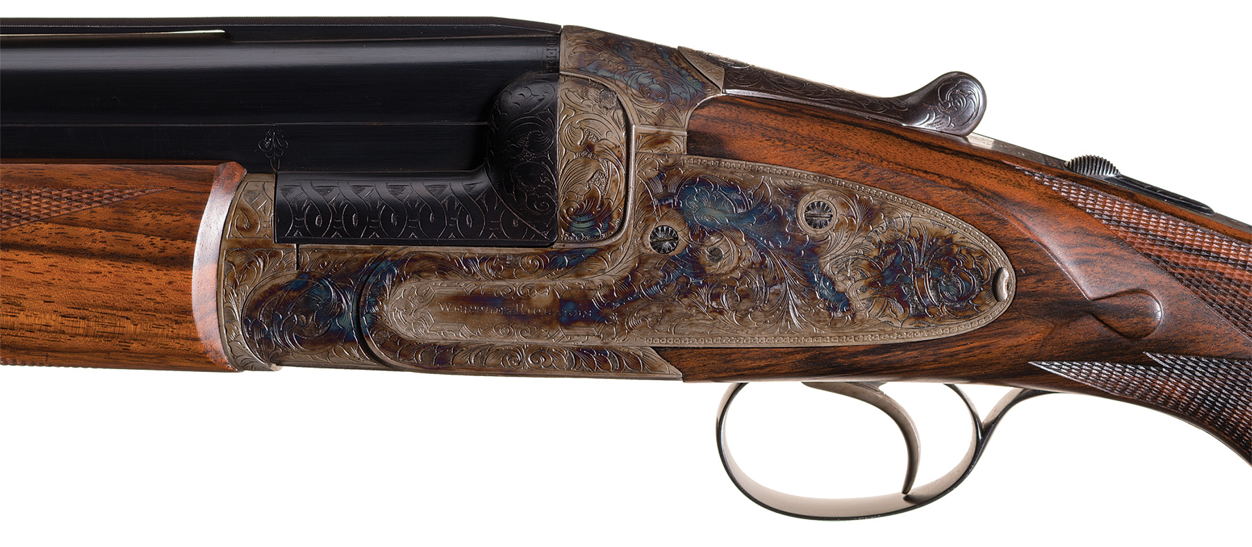 Westley Richards Ovundo gun action